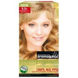 Aromaganic Organic Hair Colour 8.0N Light Blonde Natural