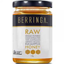 Berringa Raw Organic Eucalyptus Honey 1Kl
