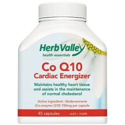 Herb Valley Co Enzyme Q10 150mg 45caps