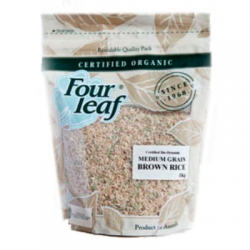 Four Leaf Brown Rice Medium 1kg