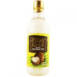 Fijian Gold Coconut Oil Unrefined Virgin 500ml
