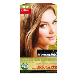 Aromaganic Organic Hair Colour 7.30GN Blonde (Gold Natural)