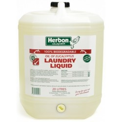 Herbon Laundry Liquid Fragrance Free 20lt