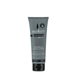 Sukin Oil Balancing Plus Charcoal Pore Refining Facial Scrub 125ml