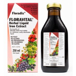 FLORAVITAL Herbal Liquid Iron Extract 250ml