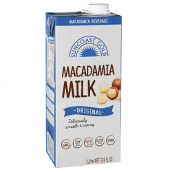 Suncoast Gold's New Macadamia Milk 12 x 1 Lt $49.75