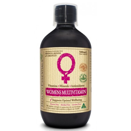 Healthy Essentials Liquid Women's Multivitamin 500ml