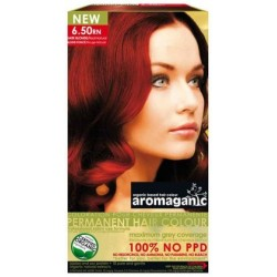 Aromaganic Organic Hair Colour 6.5 Rich Red Natural