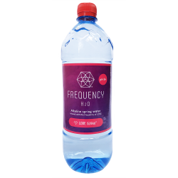 12x Frequency H2O Alkaline Spring Water: LOVE 1Lt