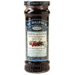 Cranberry Blueberry Fruit Spreads 284g St Dalfour