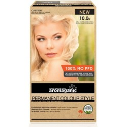 Aromaganic Organic Hair Colour Ultra Light Ash Blond