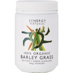 Synergy Organic Barley Grass Powder 500g organic