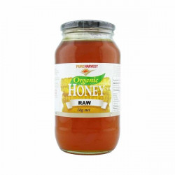 Pure Harvest Organic Raw Honey 1Kilo