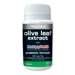 Olive Leaf Extract with MultiplyPLUS - 30 Capsules