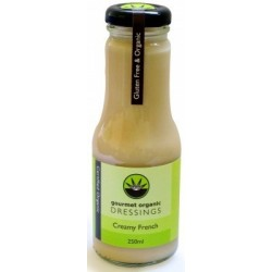 Organic Creamy French Dressing 250ml - Gourmet Organic