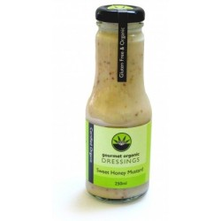 Organic Sweet Honey Mustard Dressing 250ml - Gourmet Organic