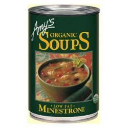 Organic Canned Minestrone Soup 400gm Amys