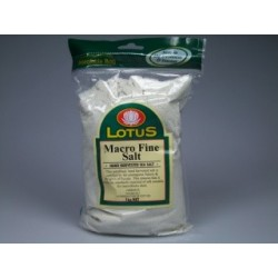 Macrobiotic Sea Salt - Fine 1kg Lotus