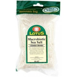 Macrobiotic Sea Salt - Coarse 500gm Lotus
