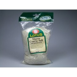 Macrobiotic Sea Salt - Coarse 1kg Lotus