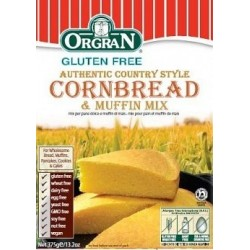 Cornbread & Muffin Mix 375gm Orgran