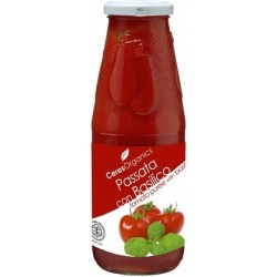 Ceres Organics Passata con Basilico Tom Puree 720ml