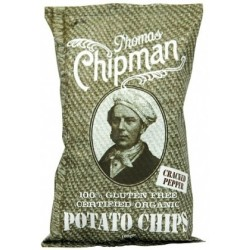 Thomas Chipman Org Crack Pepper Potato Chips 100g