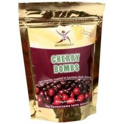 Superfoods Dark Choc Cherry Bombs 125g