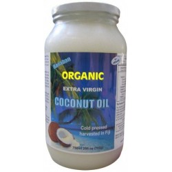 Banaban Organic Extra Virgin Coconut Oil 750ml (Glass)