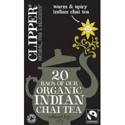 Clipper Fairtrade Organic Indian Chai 20Teabags