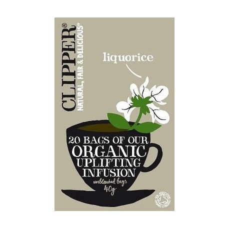 Clipper Organic Licorice 20Teabags