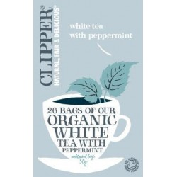Clipper Organic WhiteTea with Peppermint 25Teabags