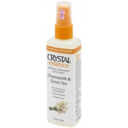 Crystal Deodorant Essence Chamomile & GreenTea Spray100ml
