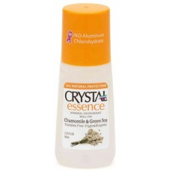 Crystal Deodorant Essence Chamomile &GreenTea Roll On 50ml