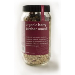 Real Good Foods Org Berry Bircher Muesli Jar 525g