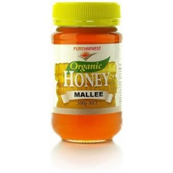 Organic Mallee Honey 500gms by Pure Harvest