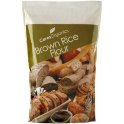 Organic Ceres Brand Brown Rice Flour 1kg