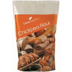 Organic Ceres Brand Chickpea Flour 800g (Stand Up)