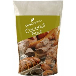 Organic Ceres Brand Coconut Flour 800g (Stand Up)