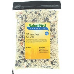Organic Gluten Free Muesli 375g by Natures First