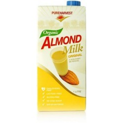Organic Pure Harvest Almond Milk 1ltr G/F