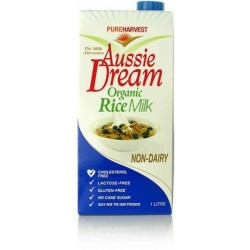 Organic Pure Harvest Aussie Dream Org Rice Milk 1ltr