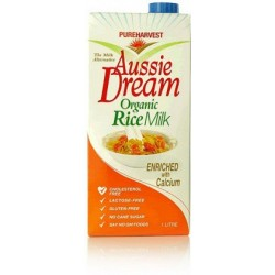 Organic Pure Harvest Aussie Dream Org Rice Milk+Cal 1lt