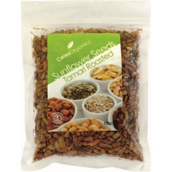 Organic Ceres Organics Sunflower Seeds Tamari Roasted 150g
