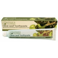 6pk Olive Leaf Fluoride Free Toothpaste 110g by Nature's Goodness