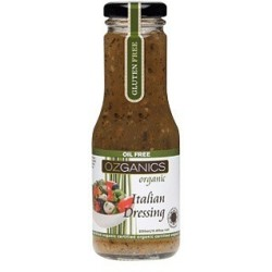Organic Italian Dressing G/F 250ml by Ozganics