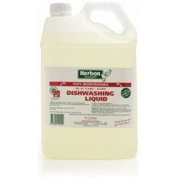 Dishwashing Liquid by Herbon 5lt
