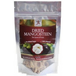 Dried Mangosteen 125gm Gluten Free by Dr Superfoods