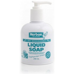Herbon Liquid Soap Pump 250ml Chemical Free