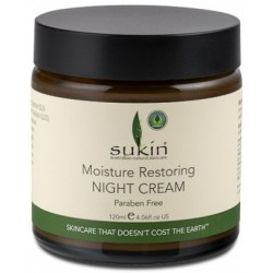 Sukin Moisture Restore Night Cream Jar 120ml